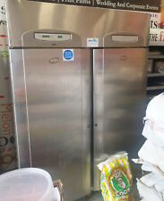 Foster Double Door Stainless Steel Commercial Fridge For Restaurant Or Takeaway