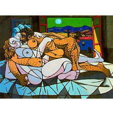 Wooden Jigsaw Puzzles 500 PCS Pablo Picasso Collectibles Painting Art Home Decor