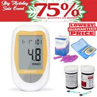 Mètre 50pcs mesure de la glycémie diabétique de moniteur de glucose glucomètre