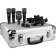 Audix*DP4*Drum Microphone Pack w/3-i5, 1 D6, DFlex Clamp FREE SHIPPING NEW