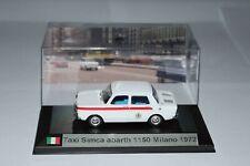 Taxi Simca Abarth Milano 1972 1/43 neuve avec boite vitrine.