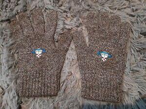 Vivienne Westwood Gloves Vintage Wool Large Size