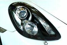 Carbon Fiber Headlight Panel - Porsche 981 Cayman & Boxster