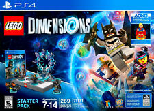 LEGO Dimensions Starter Pack (with Super Girl)-(Sony PlayStation 4) Ps4 For Kids