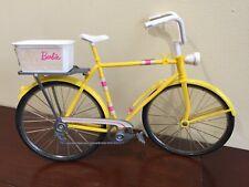 VINTAGE MATTEL BARBIE YELLOW 10 SPEED BICYCLE Malibu Ken