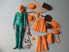 """Marx Johnny BEST Of The WEST """"JANE WEST"""" with accessories - Woman"""