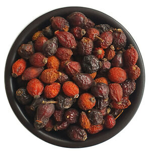 Dried Rosehip Whole - Premium Quality - Rose Berries, Rosehips Fruit Free P&P