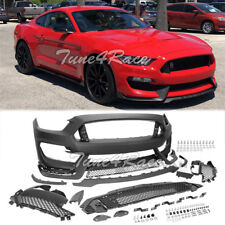For 2015-2017 Ford Mustang Front Bumper GT350 Style Retrofit Conversion Full Kit