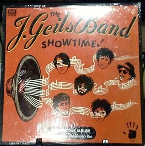 THE J. GEILS BAND Showtime Album Released 1982 LP Vinyl Collection USA  SEALED