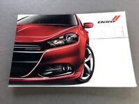 2013 Dodge Dart 64-page Sales Brochure Catalog - Rallye Aero R/T RT