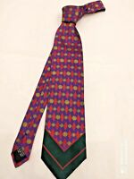 CRAVATTA GIANNI VERSACE ART. V10 UOMO 100% PURA seta SILK made in Italy