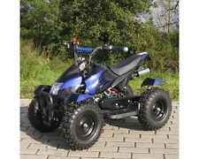 ATV Kinderquad Pocketquad Miniquad Quad Pocket Bike 49cc E-Start 2-takt blau NEU