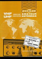 Rare Vintage Factory Hustler Cb Ham Radio Antenna Catalog