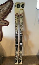 K2 Public Enemy Twin Tip Skis 167cm W/ Rossignol Axial Free 100 Bindings 66""