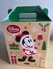 New Disney Store Mickey Mouse and Friends Christmas Barn Box Small 26x21x21cm