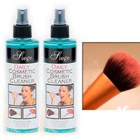 2 Cosmetic Brush Spray Cleaner Make Up Remover 8 Oz Liquid Cleanser Professional