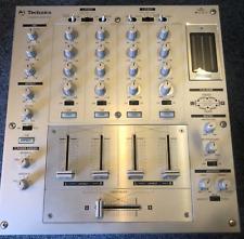 Technics SH-MZ1200 Argent Mixeur Dj Lecteur Platine Utilisé Fonctionnel Scratch