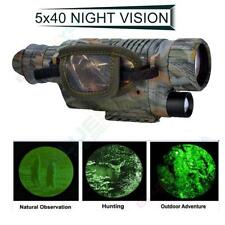 Brand Infrared Dark Night Vision 5X40 IR Monocular Binoculars Telescopes Hunting