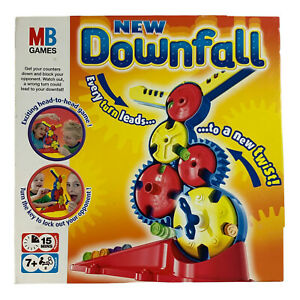 Downfall Board Game by MB Hasbro 2004 Family Fun - Complete - Great Condition