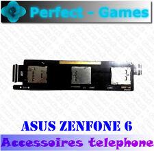 ASUS ZENFONE 6 Nappe cable lecteur carte micro SD double SIM card reader slot