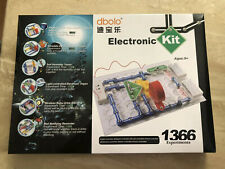 Dbolo Electronic Kit 1366 Experiments Set Incomplete