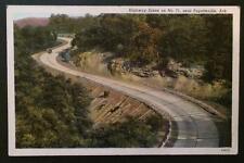 Highway Scene on No. 71, Near Fayetteville, Ark. Fayetteville Drug Co.