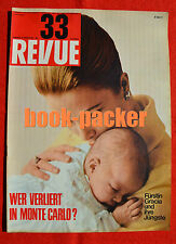 Revue 1965 Nº 33 (15.8.65): gunther sachs/Monte Carlo