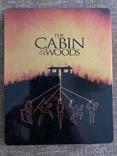 THE CABIN IN THE WOODS LIMITED EDITION 4K UHD BLU RAY STEELBOOK