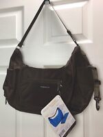 "NWT Lillebaby Stockholm Brown ""A Smarter Way"" Padded Baby Supply Shoulder Bag"