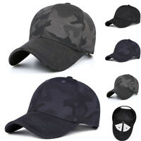 Unisex Men Women Camouflage Baseball Cap Snapback Hat Hip-Hop Adjustable Cap