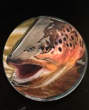 New Nature Fly Fishing Resin Coaster Paperweight Party Gift 4� Idaho Snake River
