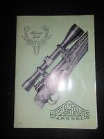 Brochure VENDITE Hertel & Reuss effetto KASSEL Cannocchiale da puntamento