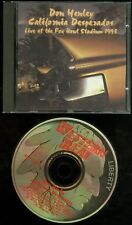 Don Henley California Desperados CD The Eagles