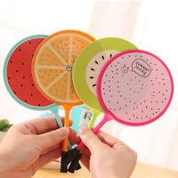 6Pcs Fashion Cute Colorful Fruits fan Ball Pens Office School Supply Stationery