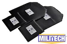 Ballistic Panel Bullet Proof Plate Backer Body Armor Lvl IIIA 3A 10x12 6x6 Pair