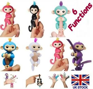 Baby Happy Monkey Kids Childrens Fun Play Interactive Finger Toy 6 Functions New