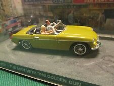 JAMES BOND CARS COLLECTION 019 MGB THE MAN WITH THE GOLDEN GUN