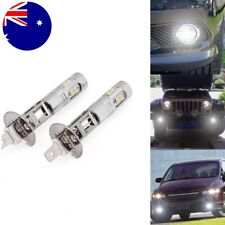 2 X 2018 H1 60W CREE LED  CAR UTE 4WD SUV HEADLIGHT FOG DRIVING LIGHT BULB GLOBE