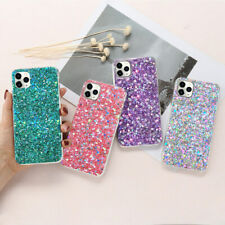 Sparkly Bling Glitter Soft TPU Back Case Cover Bumper For iPhone 11 7 8 SE XR XS