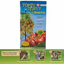 BNIB Topsy Turvy Upside Down Tomato Planter Tree Stand 5 ' Tall Greenhouse Patio
