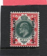 Bechuanland EV11, 1904-13 1s deep green & scarlet sg 70 H.Mint