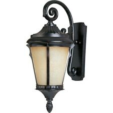 Maxim Odessa Cast 1-Light Outdoor Wall Lantern Espresso - 3014LTES