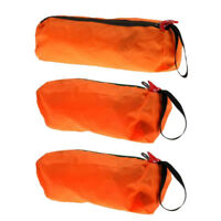 3pcs Portable Outdoor Travel Camping Wash Bag Toiletry Makeup Zipper Pouch