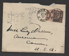 **France Cover, SC # 100 to United States, Enclosure
