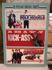3 Film Box Set, Role Models,Kick-Ass and Superbad ,DVD