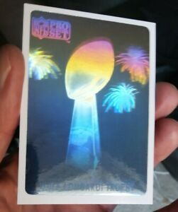 1990 Pro Set Vince Lombardi Trophy Hologram  #691/10000 just pulled out of pack