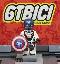 LEGO MARVEL AVENGERS MINIFIGURA  `` CAPTAIN AMERICA ´´  Ref 76123 ORIGINAL LEGO