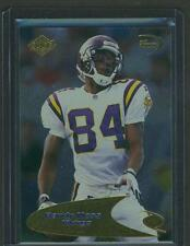1998 RANDY MOSS 3rd QUARTER GOLD COLLECTOR'S EDGE ROOKIE RC