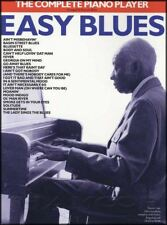 The Complete Piano Player Easy Blues Sheet Music Book 21 Songs Chords & Lyrics