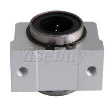 20mm SC20V Short Linear Motion Ball Bearing Slide Bushing Block Silver
